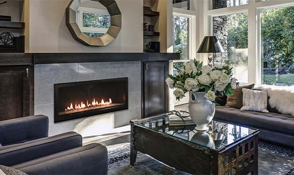 Gas Log Sets & Fireplaces
